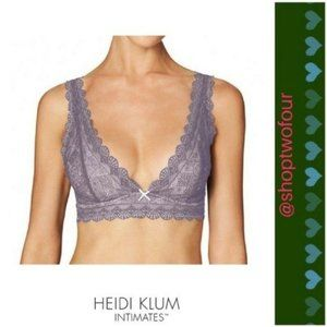 Heidi Klum Intimates Geometric Lace Soft Cup Bra